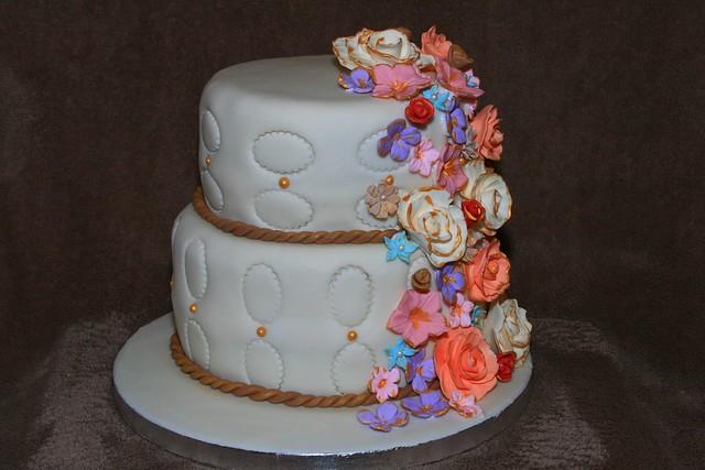 Average Wedding Cake Cost For