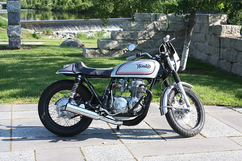 1978 CB550 by caffeineandpixels