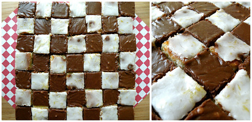 Mrs. Fields Secrets Checkerboard Brownies