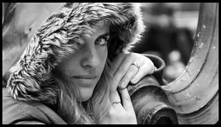 Clélia, num dia frio e cinza