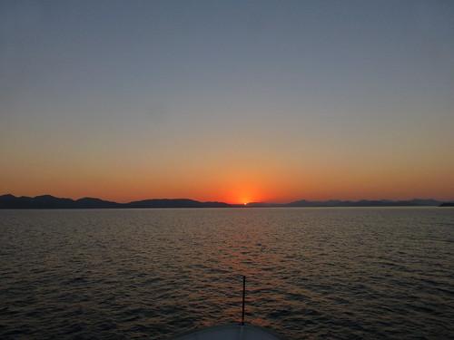 blue sea port sunrise island greek islands harbor town mediterranean turquoise aegean greece symi dodecanese