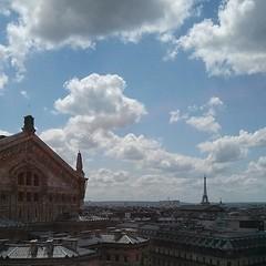 巴黎今日美好天晴。