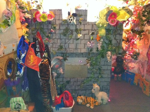 The Children's Garden Play Room. Photo Courtesy of The Children's Garden.