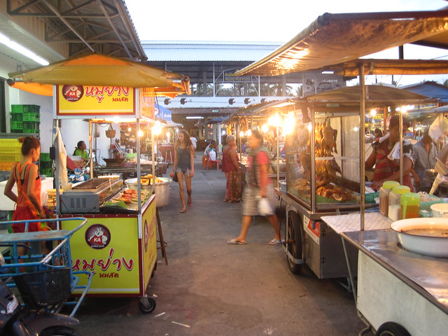 Phangan Pantip food market