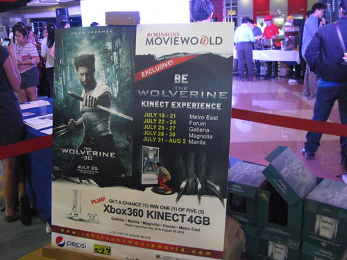 Become The Wolverine Kinect Experience Launch