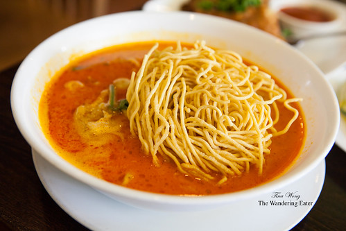 Khao Soi - Curry egg noodles with pork