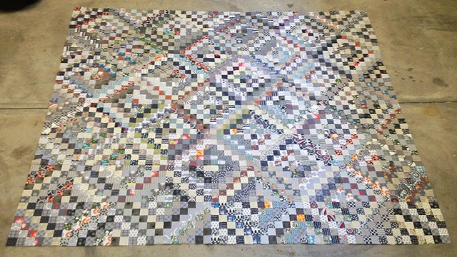 Scrappy Trout Quilt Top