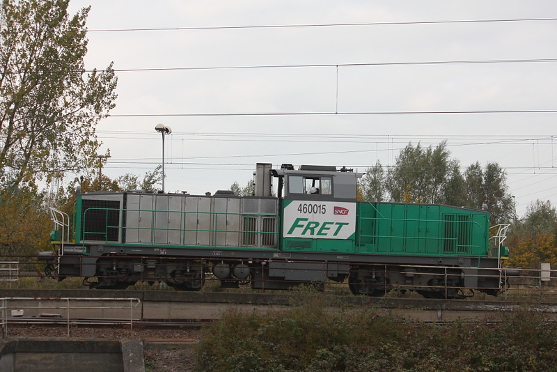 Vossloh 2315 - GA 1000 AS - BB 460015 / Dunkerque