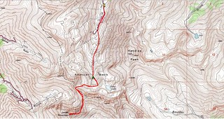 Jones Mountain Topo Map