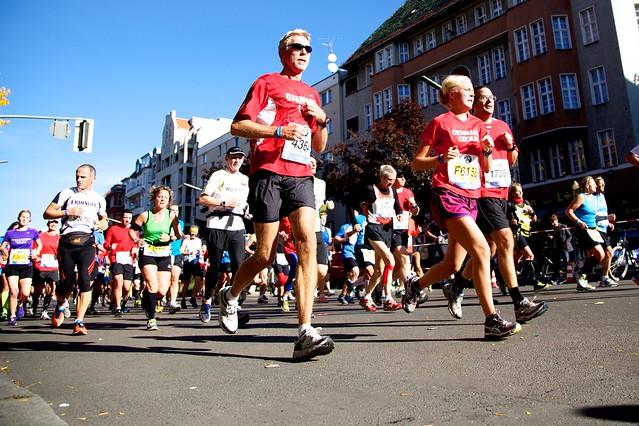 Berlin Marathon, Kilometer 16