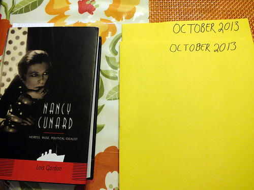 October 2013 diary