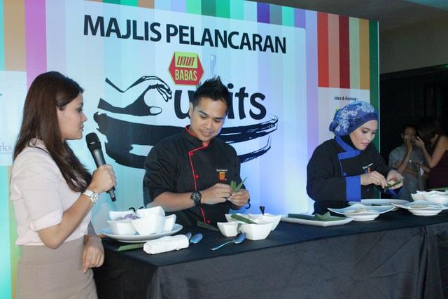 Chef Kamarul & Yati Rahman akan menjadi chef dlm program Babas Cu~Bits (1)