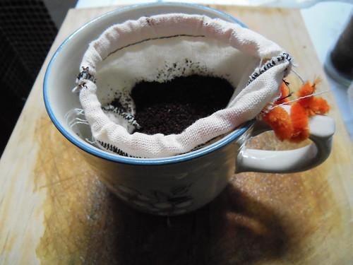 Chorreando café