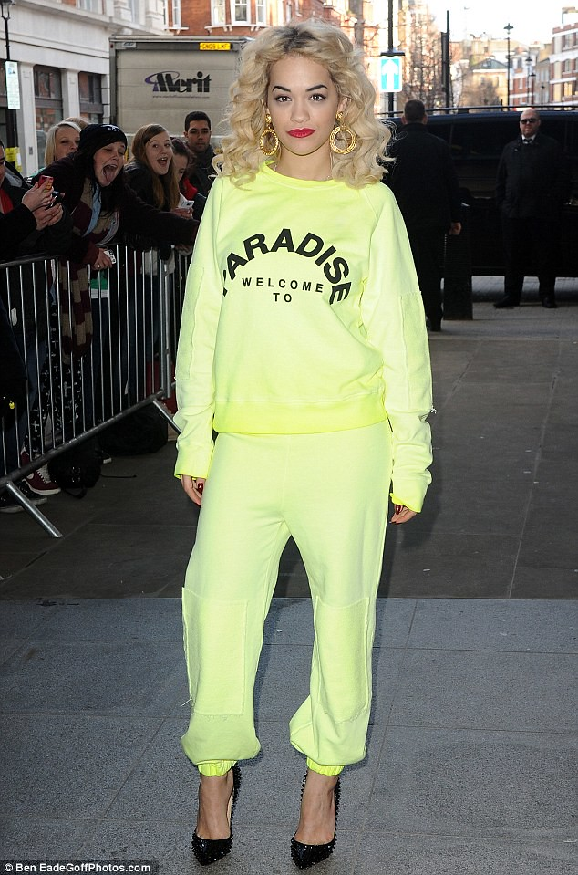 neon tracksuit,Christian Louboutin Pigalle Spikes Heels, how to dress up a tracksuit, how to look chic in tracksuit