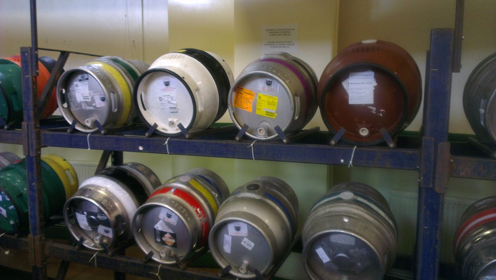 Casks on the Stillage