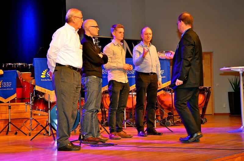 Brassbandfestivalen 2013 - Lottning Elitdivisionen förrättas av Martin Lindor (Foto: Olof Forsberg)