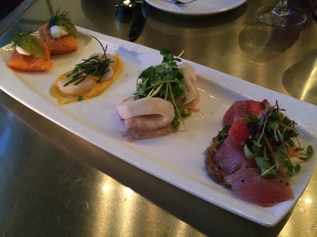 Crudo sampler - Bar Crudo