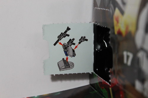 LEGO Star Wars 2013 Advent Calendar (75023) - Day 7 - Weapons Rack