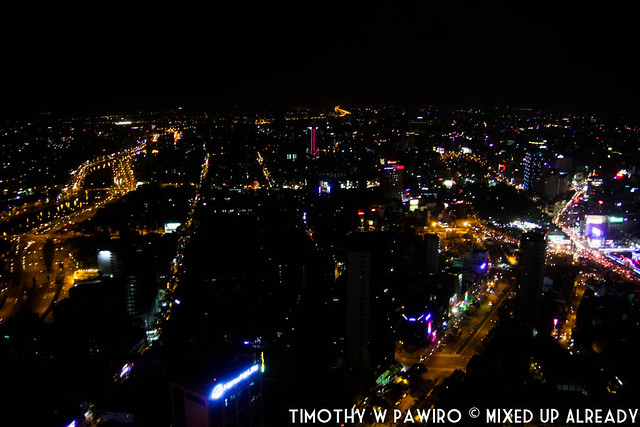 Vietnam - Ho Chi Minh - Bitexco Financial Tower - EON51 - The city at night