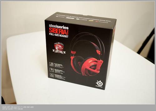 MSI 電競耳機 SteelSeries Siberia v2