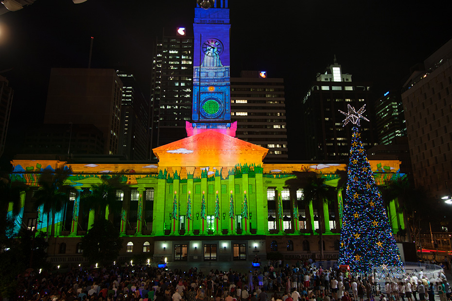 2013 City Hall Light Spectacular