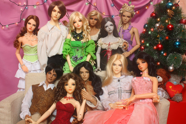 My Iplehouse bjd family