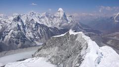 Ama Dablam widok ze szczytu Island Peak