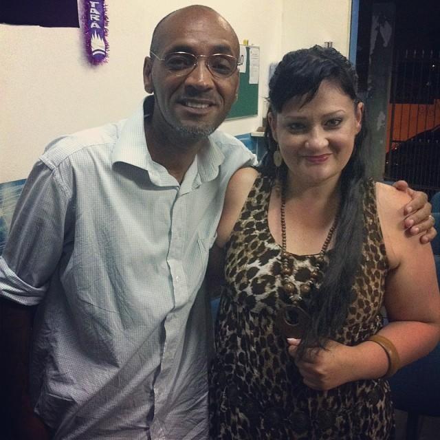 Irmão Rinaldo Emílio de Andrade, o Rinea B. V., ex #racionais_Mc no meu bairro! Glória a Deus!!! Testemunho leeeendo! #Rap #RineaBV #IgrejaQuadrangular #Embudasartes