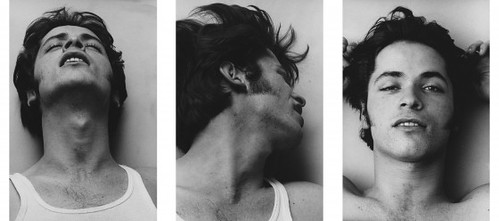 Orgasmic Man (I, II, III), 1969, by Peter Hujar. (Courtesy of Fraenkel Gallery.)