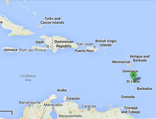 StLucia map2