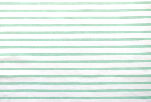 mint green stripes