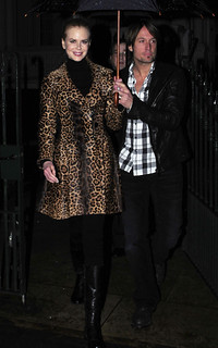 Nicole Kidman Leopard Print Coat Celebrity Style Women's Fashion