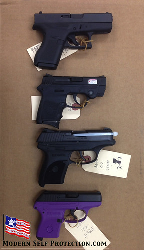Glock 42 Compared to S&W Bodyguard, Ruger LC380, Ruger LCP