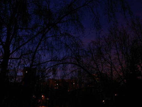 утро субботы рассвет