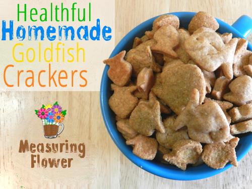Healthful Homemade Goldfish Crackers