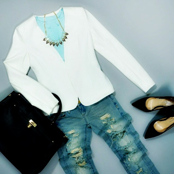 Outfit Ideas - Blazed and Blue