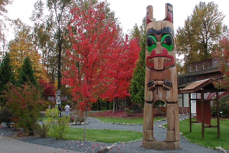 Quw'utsun' Cultural Centre, Duncan, Cowichan Valley, Vancouver Island, British Columbia, Canada