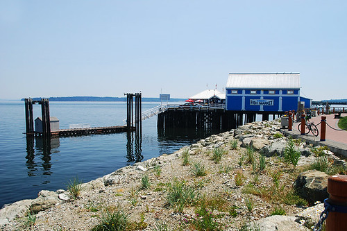 Sidney Waterfront, Sidney, Greater Victoria, Vancouver Island, British Columbia, Canada