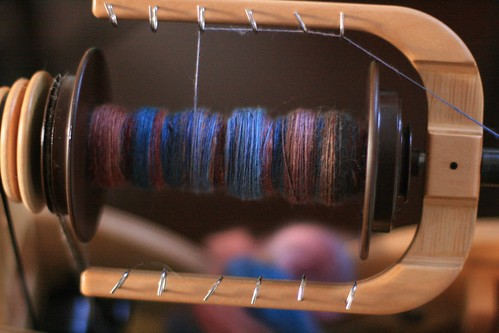 Spinning progress
