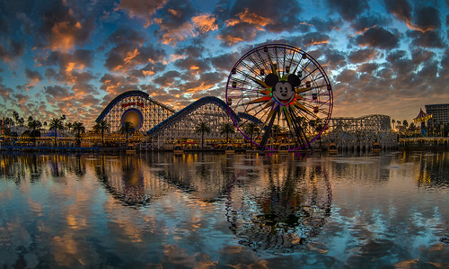 A Rare Night At Paradise Pier