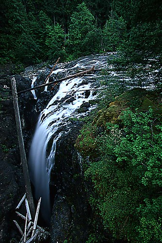 Englishman River Falls Provincial Park, Parksville, Vancouver Island, British Columbia, Canada