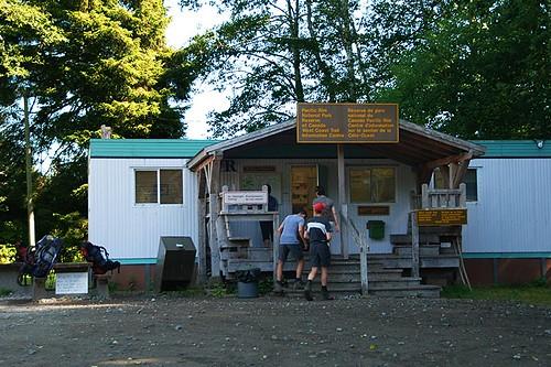 Pachena Trailhead in Bamfield, West Coast Trail, Pacific Rim National Park, Vancouver Island, British Columbia, Canada