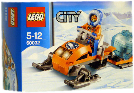 LEGO City Arctic Snowmobile (60032)