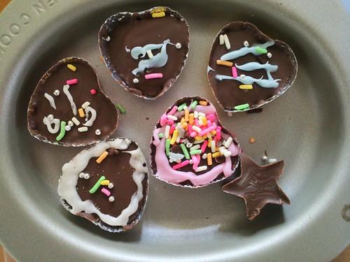 娘ちゃんからバレンタインでもらったチョコレート
