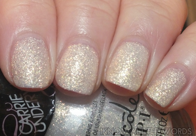 nicole by opi carrie underwood collection- Sing You Like a Bee (2)