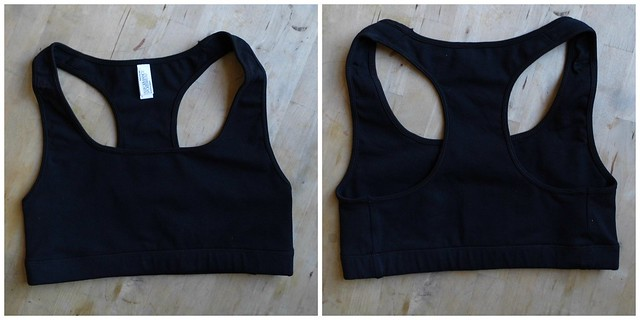 American Apparel Compression Sports Bra Activewear