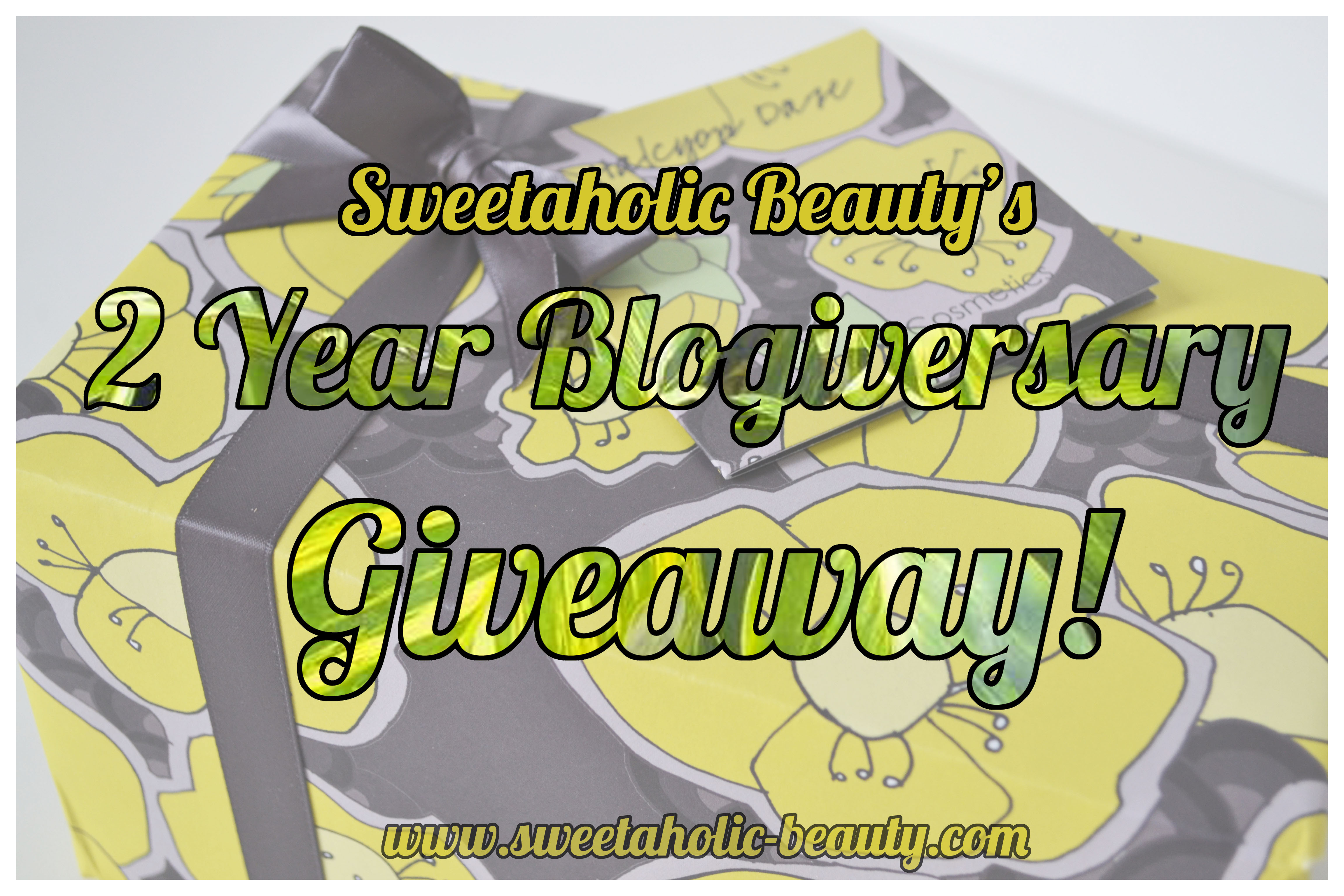 Sweetaholic Beauty's Giveaway!