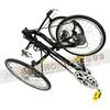 369-001 TW-BENTS MANTIS螳螂-進階款可摺疊斜躺三輪車27速黑-4