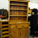 Natural pitch pine kitchen dresser
