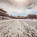 China / Beijing / Magnificient view of the Forbidden City by .Gianluca